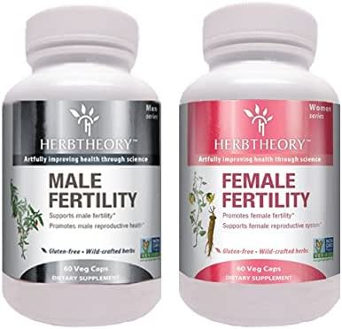 Herbtheory Male/Female Fertility Combo with Astragalus and Goji Berry Improves Male and Female Reproductive Systems