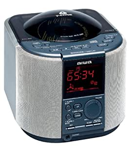 aiwa fr tc5000 digital alarm clock radio with am fm cd r rw 3 cd t cone mechanism. Black Bedroom Furniture Sets. Home Design Ideas