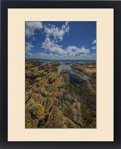 framed-print-of-summertime-on-king-island-bass-strait-tasmania-australia