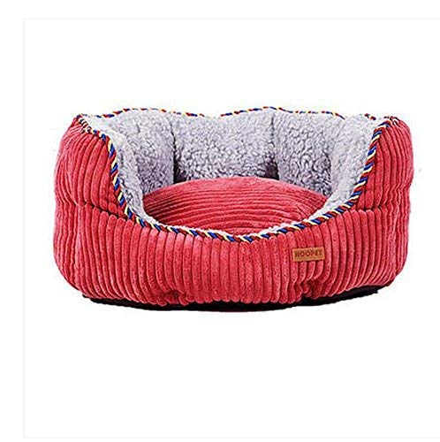Red Medium Red Medium Kennel Pads Dog Beds Kennel Sofa Dog Bed Removable and Washable golden Hair Small Medium Large Dog Cat Litter Pet Supplies Four Seasons Universal Cat Bed Pet Supplies Cover