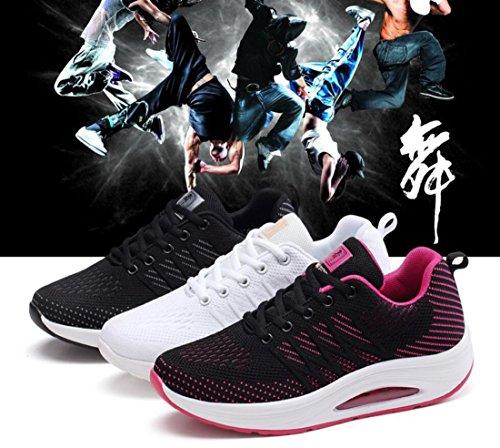 Las Corrientes Zapatos y de Las Blanco la Mujeres para Primavera Malla Verano cojín Zapatos señoras Otoño de de Zapatos Deportivos DANDANJIE de 5fAqnXwOHx