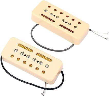 Healifty Pastillas de guitarra 2 piezas pastilla humbucker de ...