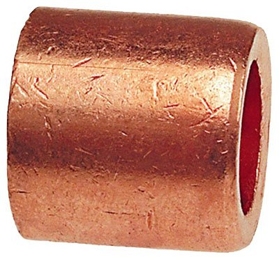 B&K W 61715 Pipe Fitting, Wrot Copper Flush Bushing, 1/2 x 3/8-In. - Quantity 10