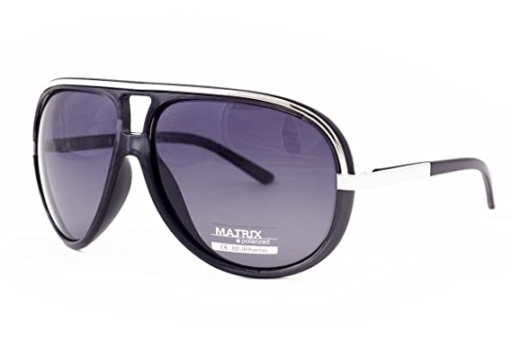 Matriz pilot-aviator estilo Retro gafas de sol polarizadas ...