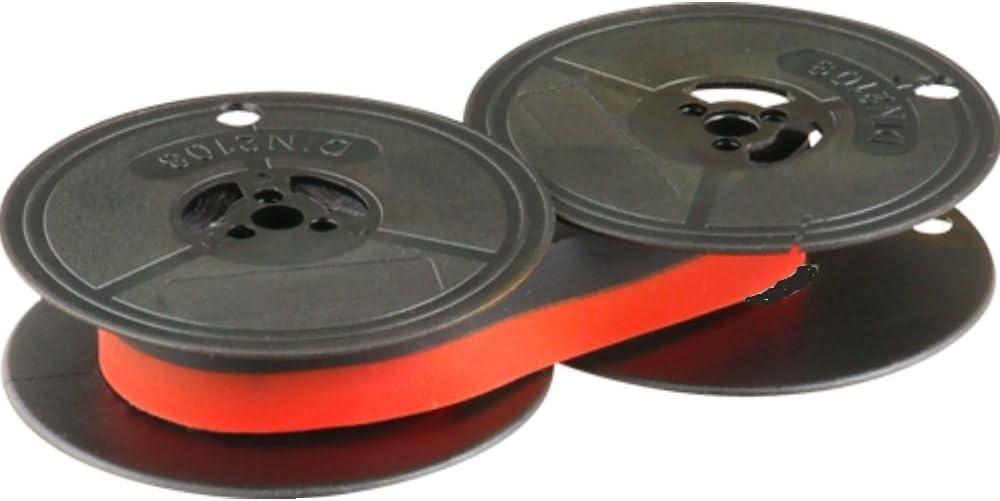 Cinta- negro/rojo -compatible con- Sigma SM 3000- -Marca Farbbandfabrik