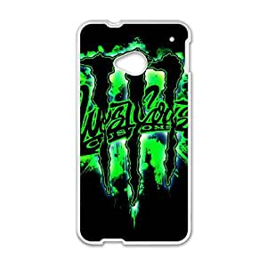 HTC One M7 Phone Case for Monster Energy pattern design
