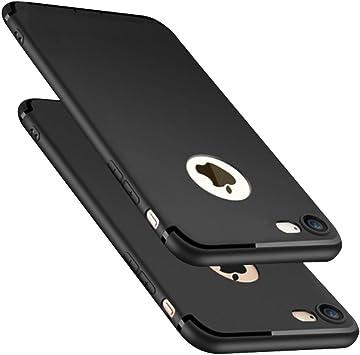 coque iphone 7 noir silicone souple