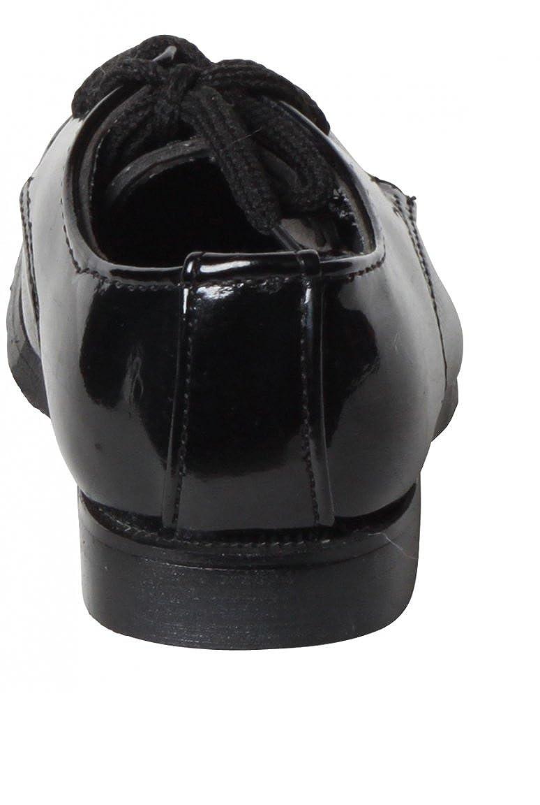 e4f932eeb88ce Dymastyle Chaussure Bébé Derby Cérémonie Coloris Noir Motif Original - Noir  - P-19  Amazon.fr  Chaussures et Sacs