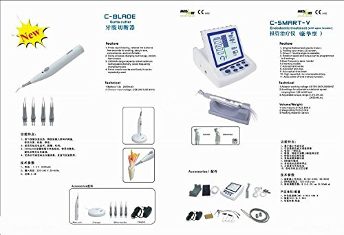 Aphrodite New Root Canal Treatment Endo Motor Endodontic And APEX Locator LCD Screen 5 Modes C-SMART-V