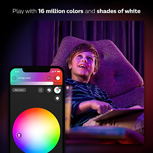 Philips Hue White and Color Ambiance PAR16 Dimmable LED Smart Spot Light (Works with Alexa Apple HomeKit and Google Assistant) by Philips (Image #9)