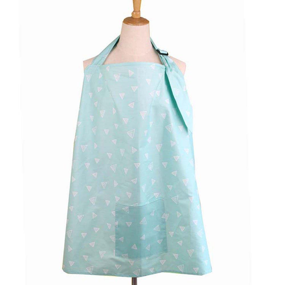 GNYD Breastfeeding Cover Up Tops for Women Cotton Nursing Shawl Sleepwear Nightdress Clothing Tops Storage Bag 2Pcs