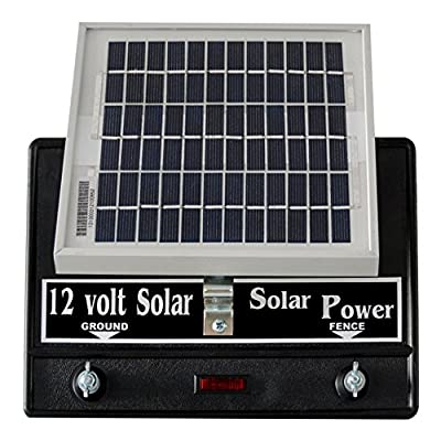 Solar Fence Charger 12 Volt 2 Joule / Free Lightning Diverter