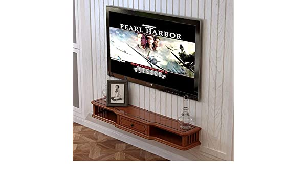 TV Rack Consola para Televisor TV con Mueble de Pared, 120 cm: Amazon.es: Deportes y aire libre