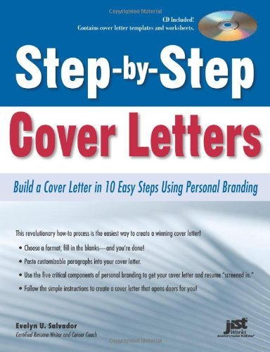Amazon.com: Step-by-Step Cover Letters: Build a Cover Letter in 10 ...