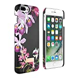Official TED BAKER® SIDRA Snap on Back Case for iPhone 7 PLUS, Flower Print Hard Shell for Professional Women Soft Feel Back Cover for Apple iPhone 7 PLUS - Lost Gardens