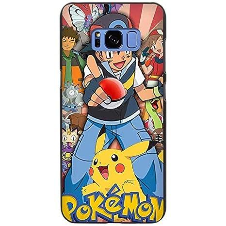 Bleu Jaune Pokémon Galaxy S8 Plus Coque Gotta Catch Em All