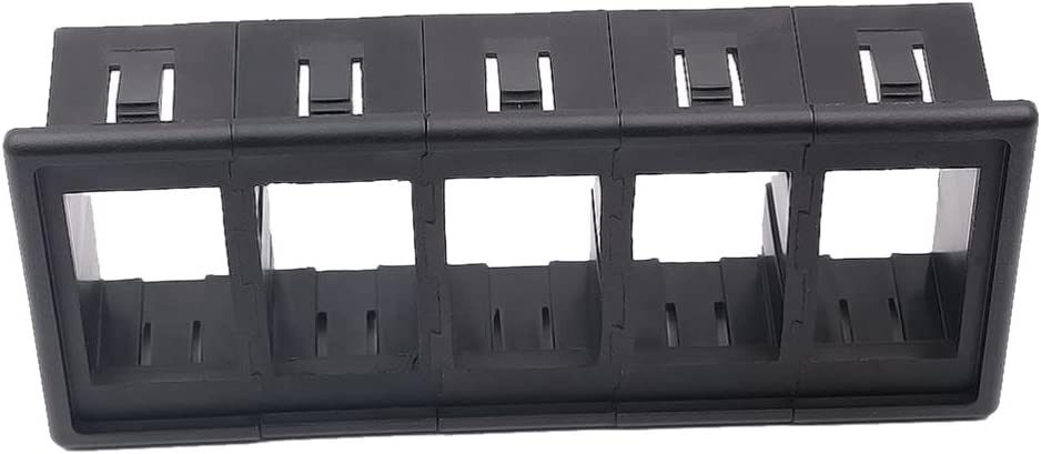 5 Gang Plastic Rocker Switch Clip Panel Holder Housing for ARB Carling Type