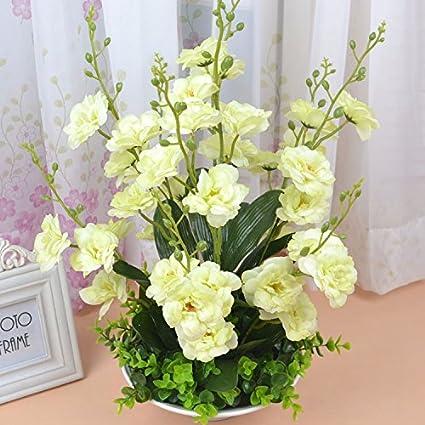 Emulación flores xue lan Kwai florero decoración para el hogar con diseño de flores flores flores