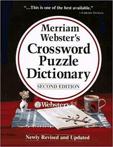 Merriam Webster S Crossword Puzzle Dictionary Second Edition The