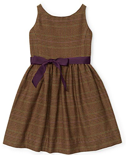 (Ralph Lauren Little Girls' Tweed Dress (3/3T))