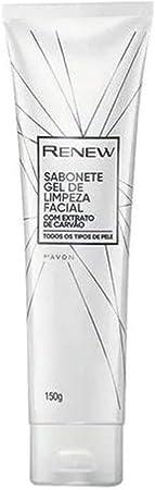 Avon Renew Sabonete Gel de Limpeza Facial 150g