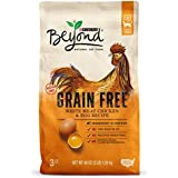 Purina Beyond Grain Free Natural, White Meat Chicken & Egg Recipe Dry Cat Food, 3lb bag
