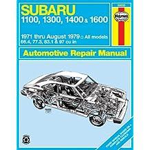 Haynes Subaru 1100, 1300, 1400, 1600 Manual, No. 237: '71 Thru '79