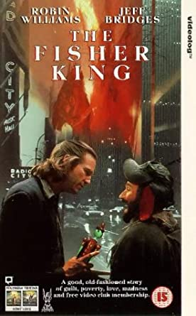 Fisher King Uk Import Vhs Robin Williams Jeff Bridges