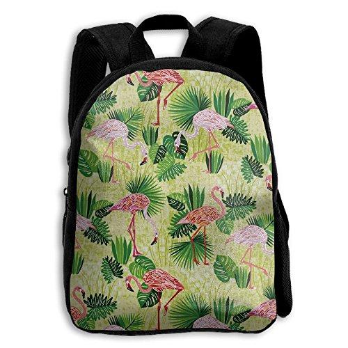Flamingo Life Kid Boys Girls Toddler Pre School Backpack Bags Lightweight (Beanie Case Visor)