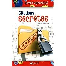 Citations secrètes