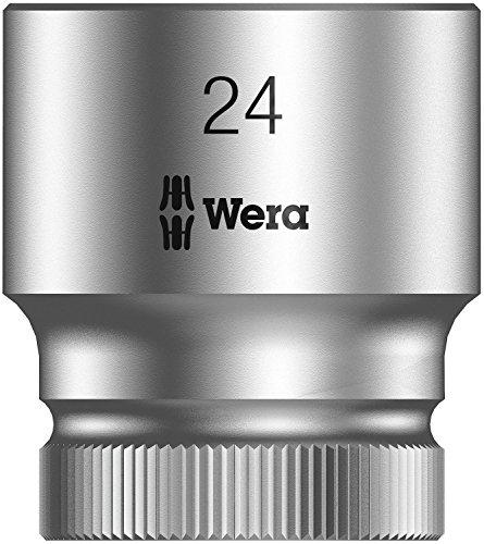 Wera Zyklop 8790 HMC 1/2'' Socket, Hex head 24mm x Length 37mm by Wera