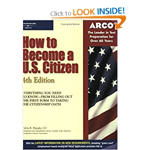 How to Become a U.S. Citizen (4th Edition) Arco
