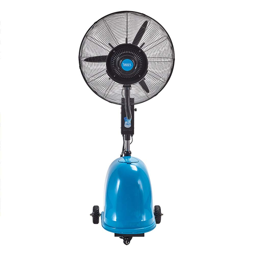 JIAYUAN Fan Outdoor Misting Fan, Pedestal Fan with 3 Speeding Setting 90° Oscillating for Widespread Cooling and Misting for Hotels Planting in greenhouses, Livestock Farms,26'',30'' by JIAYUAN