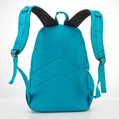 Sport 2 École Voyage Léger de Sac Sac pour Sac Dos Loisir Backpack Sacoche Femme Bandoulière à Foino Université Cours Sac Sac Mode Collège de bleu qw1SH6vSx