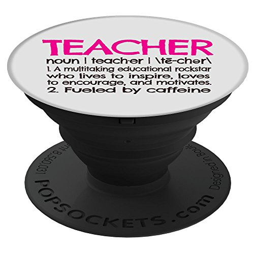 CocomoSoul-Mobile Teacher Definition -Teacher Appreciation Gift - Last Day Of School Gift PopSockets Stand for Smartphones and Tablets