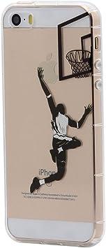 Keyihan iPhone 5 / 5S / SE Funda Carcasa Invierno Cuento de Hadas ...