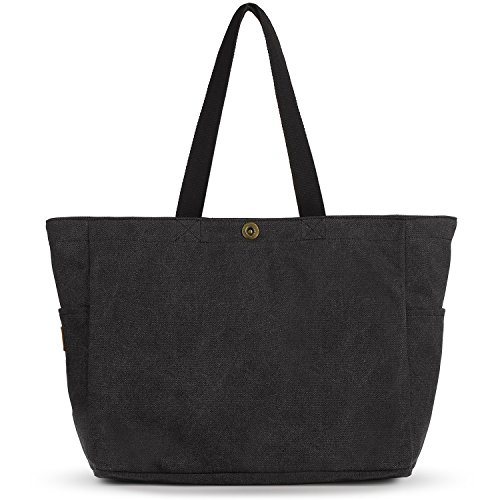 SMRITI Large Canvas Tote Bags for School Work Travel and Shopping
