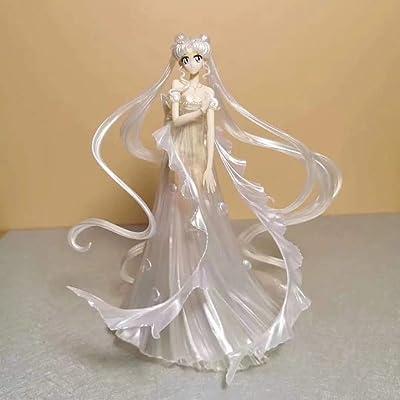 Kpop Space Sailor Moon Tsukino Usagi Princess Serenity Wedding Dress Ver Figure Figurine: Toys & Games