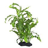 CNZ Aquarium Decor Fish Tank Decoration Ornament Artificial Plastic Plant Green