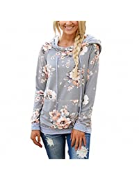 Hoodie For Women Woya Long Sleeve Hoodies Autumn And Winter Sweater Print Blouse