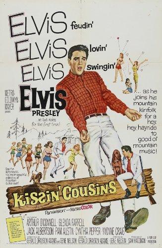 kissin-cousins-framed-poster-movie-11-x-17-inches-28cm-x-44cm-elvis-presley-arthur-oconnell-jack-alb