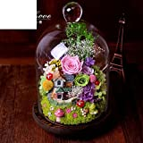 [flower imports immortalized] Rose flower gift box Mother's day Birthday gift-O