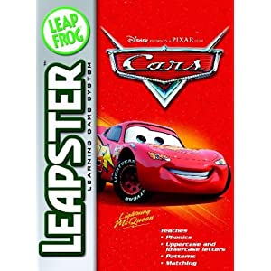 LeapFrog Leapster Learning Game Cars