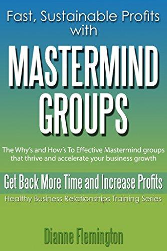 Mastermind Groups Sustainable Accelerate Relationship ebook product image