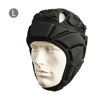 Easy-topbuy Casco De Portero Engrosado Protección para la Cabeza Respirable Absorción de Golpes Protector Sombrero para Fútbol Rugby: Amazon.es: Deportes y ...
