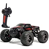 remote control big foot - TOZO C2032 RC CARS High Speed 30MPH 1/12 Scale RTR Remote control Brushed Monster Truck Off road Car Big Foot RC 2WD ELECTRIC POWER BUGGY W/2.4G Challenger Red