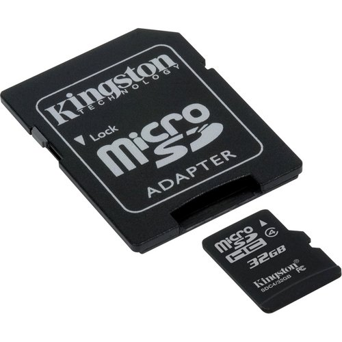 ZTE Warp Cell Phone Memory Card 32GB microSDHC Memory Card with SD Adapter
