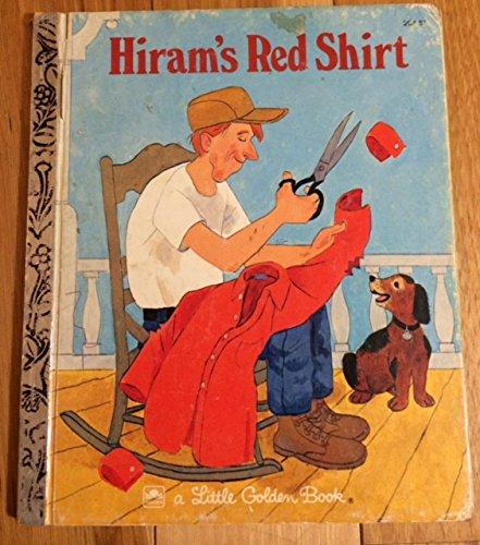 Hiram's red shirt (A Little golden book)