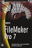 Learn FileMaker Pro 7, Jonathan Stars and Nonie Bernard, 1556220987
