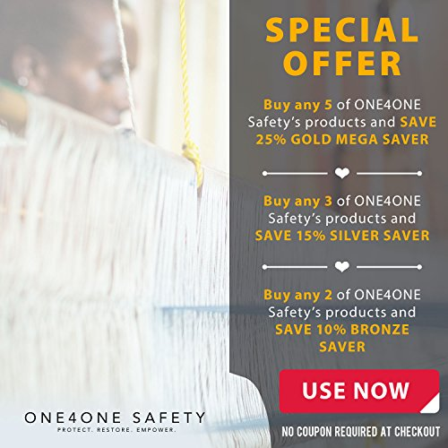 ONE4ONE Safety's Gray Chevron Cabinet Locks, 1 Lock | Baby & Child Proof Drawers, Cabinets, Refrigerator, and More | No Tools Needed | Each Purchase Helps A Child In Ethiopia (Circle)